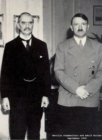 Neville.Chamberlain.and.Adolf.Hitler